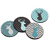 Flox 'Deer and Deer and Deer Oh My!' Rubber Coasters best price on Amazon @ Rs. 2535