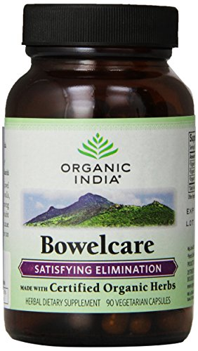 Organic India Bowelcare, 90 V-Caps