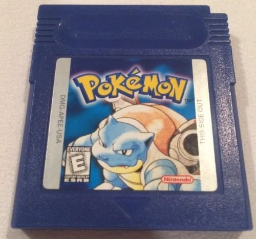 Pokemon Blue Version Game [GameBoy] - NEW SAVE BATTERY SOLDERED IN (no tape) (Pokemon Blue Gameboy Color compare prices)