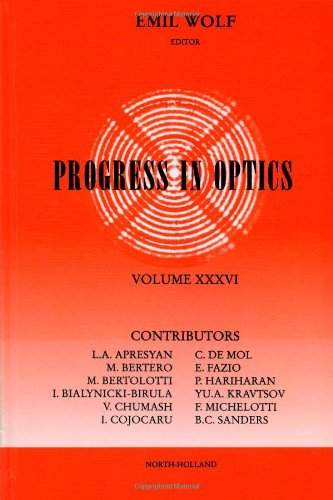 Progress In Optics, Vol. 36