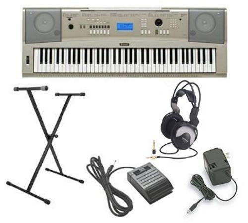 Yamaha YPG-235 5pc Ultra-Premium Keyboard Package With Headphones, Stand, Sustain Pedal and Power Supply (Ypg 235 Stand compare prices)