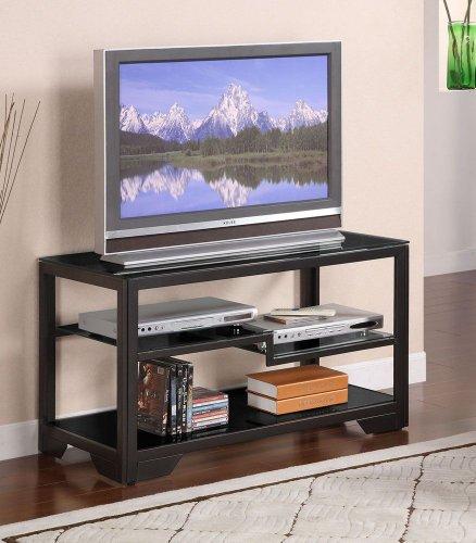 Cheap 38 Black Rectangular TV Stand (359-781)