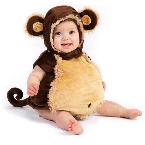 Mischievous Monkey Infant/Toddler Costume(12-18 Months-As Shown)