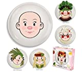 Fred & Friends Ms Food Face Plate