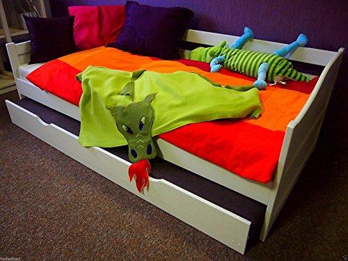 Bett 90 x 200 cm Funktionsbett