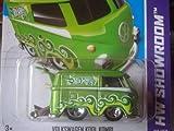 Hot Wheels 2013-175 HW Showroom Volkswagen KOOL KOMBI Green 1:64 Scale