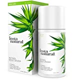 InstaNatural Retinol Moisturizer Anti Aging Cream - Anti Wrinkle Lotion For Your Face - Helps Reduce Appearance of Wrinkles, Crows Feet, Circles & Fine Lines - With Vitamin C Hyaluronic Acid - 3.4 OZ