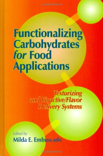 Functionalizing Carbohydrates for Food Applications: Texturizing and Bioactive/flavor Delivery Systems
