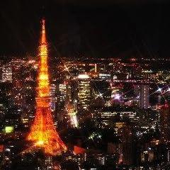 ポストカード「東京都港区夜の東京タワー」photo by katagiriポストカード-えはがき絵葉書postcard-