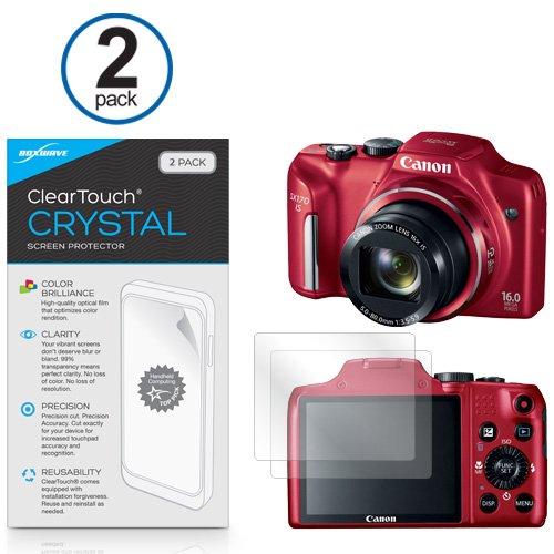 canon-powershot-sx170-is-cleartouch-boxwave-de-cristal-2-unidades-protector-de-pantalla-calidad-de-p