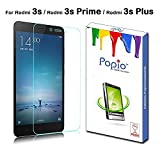 #10: POPIO™ 2.5D Curved ( Transparent ) 9H Tempered Glass Screen Protector For Xiaomi Redmi 3s / Redmi 3s Prime / Redmi 3s Plus with free installation kit with Secure Packing