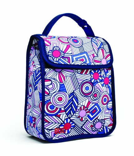 built-ny-lunch-sack-mosaic-flower-blue