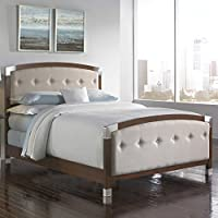 Genesis Upholstered Panel Bed for Queen