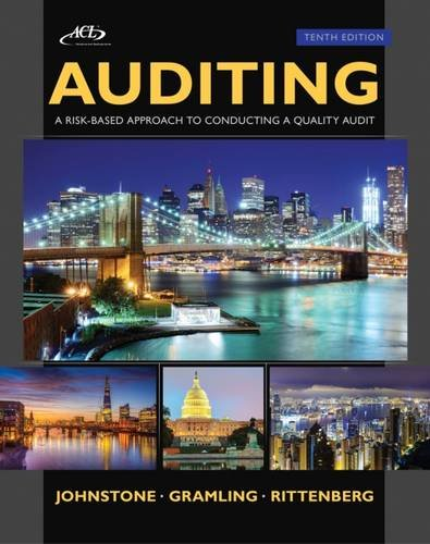 Auditing: A Risk Based-Approach to Conducting a Quality Audit (with ACL CD)