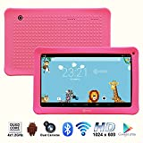 Contixo Kids 10.1 Inch Quad Core Android 4.4 Kitkat Multi-Touch Screen Tablet PC, HD Display 1024x600, 1GB RAM, 16GB Nand Flash, Dual Camera, Wi-Fi, Bluetooth, Google Play Pre-installed, 3D Game Supported, 2015 New Model (Pink) Review