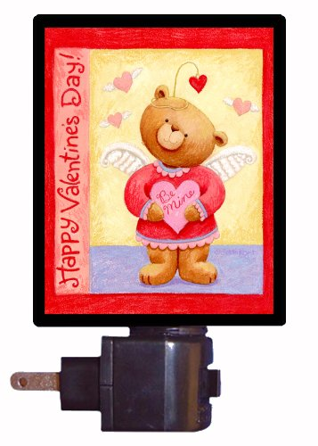 Valentines Day Night Light - Valentine Bear