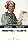 img - for American Literature, Volume I (Penguin Academics Series) (2nd Edition) by William E. Cain (2013-08-17) book / textbook / text book