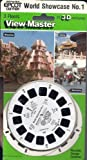 Walt Disney World Epcot Center World Showcase #1 View-Master 3 Reel Set in 3d
