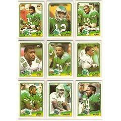 (5) 1988 Topps Football Team Sets (Philadelphia Eagles) (Minnesota Vikings) (New... by Topps