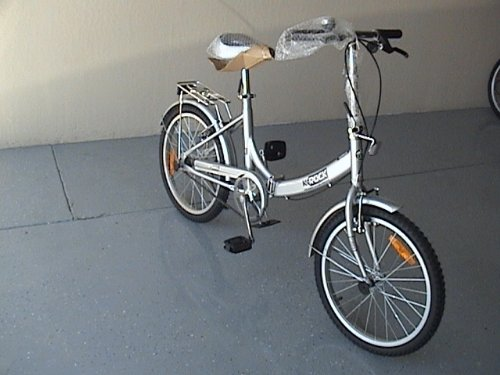 Folding Bike 20 Inchces Color SILVER