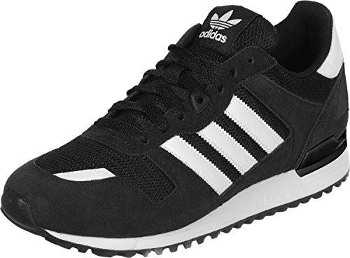 adidas Herren ZX 700 Sneakers, Schwarz (Core Black/Ftwr White/Core Black), 42 EU thumbnail