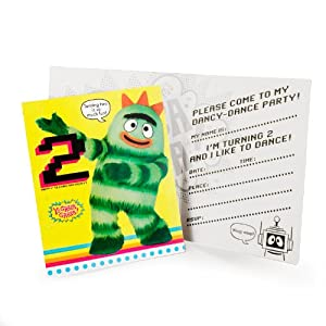 Party Destination Yo Gabba Napkins 3