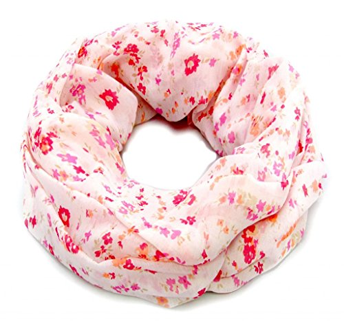 accessu-Echarpe-Foulard-pour-Femme-genteel-Floral-Millefleure-Print-purpleroseorange