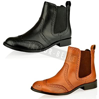 Fantastic Tod39s Women Brogue Detailing Ankle Boots Womens Boots Sale UQPBhnLe