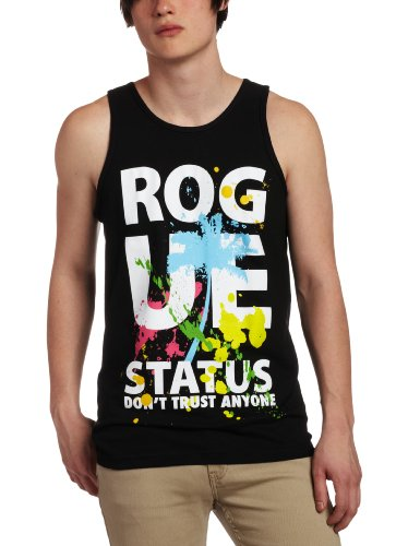 DTA SECURED BY ROGUE STATUS Men's Californication Tank Top