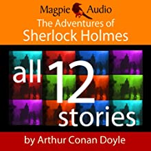 The Adventures of Sherlock Holmes Audiobook by Arthur Conan Doyle Narrated by Greg Wagland