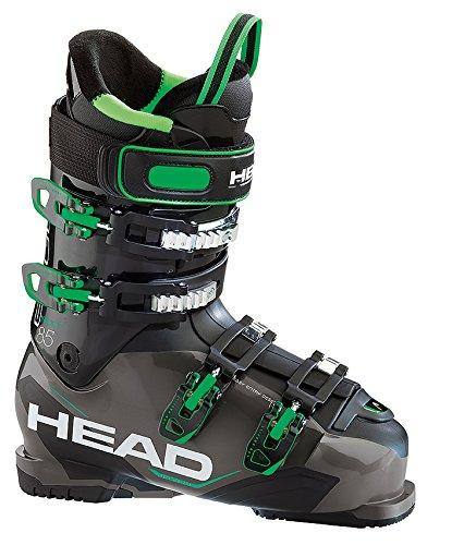 Head Next Edge 85scarponi da sci da uomo, modello 2016, Uomo, anthracite/black/green, MP 27 (EU 42)