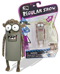 Amazon.com: Regular Show 3 Inch Action Figure - Rigby: Toys & Games