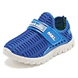 EQUICK Kid's Breathable Mesh Shoes Slip-on Sneakers for Running Pool Beach (Toddler/Little Kid)