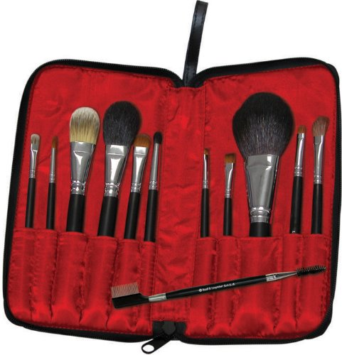 travel makeup brush set. Travel Cosmetic Brush Set