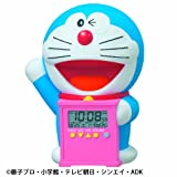 セイコークロック キャラクター目ざまし時計 ドラえもん おしゃべりアラーム プラスチック枠 JF374A