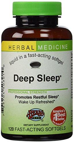 Herbs Etc Deep Sleep 120 Softgels