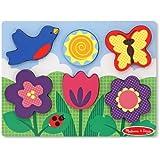 Melissa & Doug Chunky Scene - Flower Garden