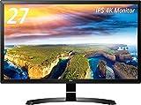 LG ディスプレイ モニター 4K 27インチ/非光沢/ブラック/HDCP2.2対応/HDMI2.0×2 27UD58-B ランキングお取り寄せ