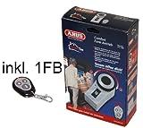 ABUS HomeTec CFA 1000 B Comfort Funk-Antrieb elektrischer T�r�ffner T�rschloss mit 1 Fernbedienung in Braun/Bronze