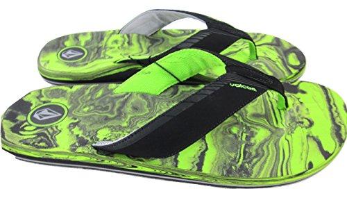 Volcom Men'S Vector Sandal,Lime,11 M Us front-1019375