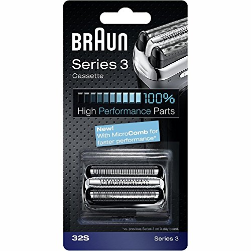 BRAUN 32S Series 3 Shaver Foil and Cutter Replacement Head Cassette (Braun 380 Replacement compare prices)