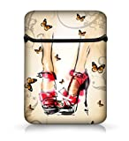 High Heels 15'' 15.4'' 15.6'' Laptop Sleeve Case Netbook Flip Bag Pouch Cover for 15.6