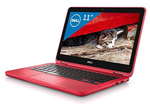 Dell 2in1ノートパソコン Inspiron 11 Celeron Office付きモデル レッド 17Q21HBR/Windows10/Office H&B/11.6インチ/2GB/32GB