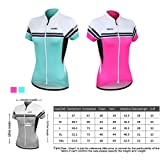 Santic Women Bicycle Cycling Jersey Short Sleeve Jersey Lady's Biking Clothes