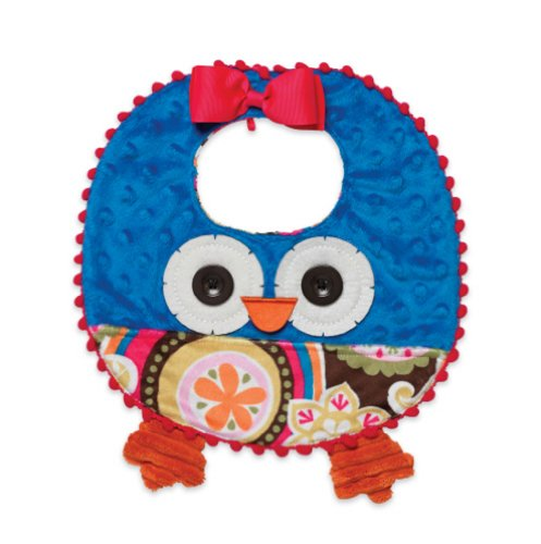Mud Pie Infant Girl'S Owl Bib front-585185
