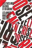 Les Etats-Unis en crise et en guerre : Les années Roosevelt (1932-1945)