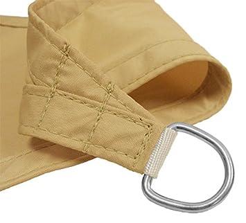 kookaburra 4 2mx4 2mx6 0m rechtwinkliges dreieck sandfarben gewebtes sonnensegel wasserfest. Black Bedroom Furniture Sets. Home Design Ideas