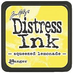 Ranger Tim Holtz Distress Ink Pads, Mini, Squeezed Lemonade by Ranger
