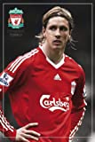 Empire 'Fernando Torres Liverpool Football' Poster with Accessory Item (Version 2) ohne Rahmen