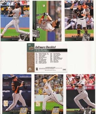 2010 Upper Deck Baseball / Baltimore Orioles Team Set - Matt Wieters, Adam Jones, Brian Matusz & More